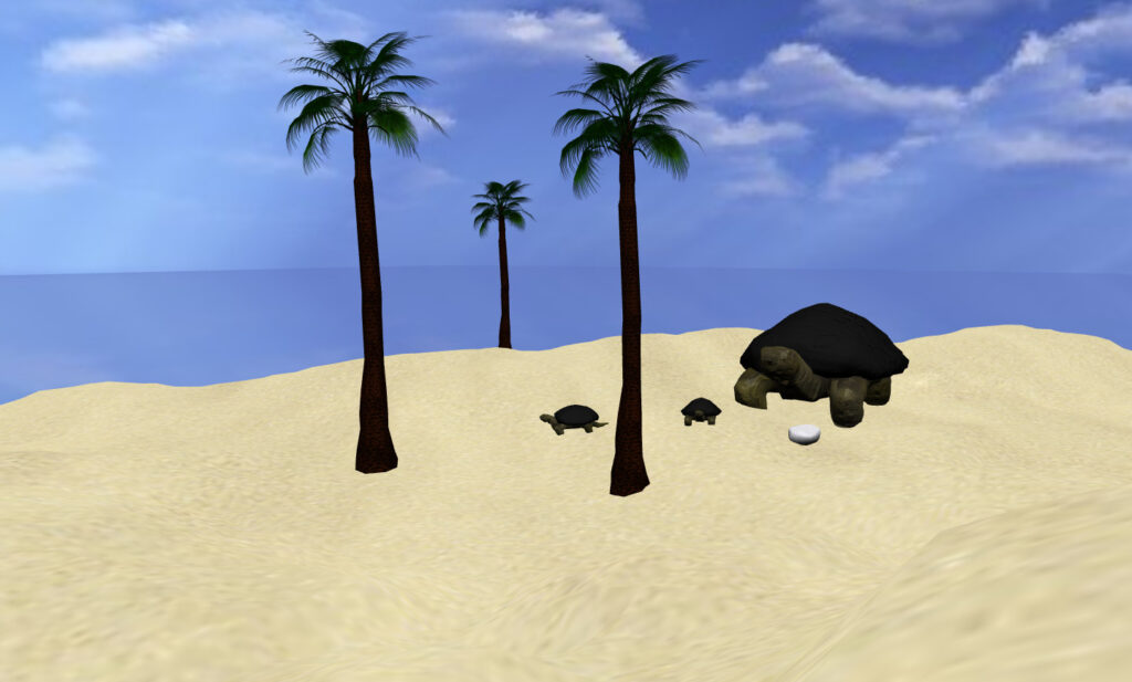 Island - démo WebGL (BabylonJS)