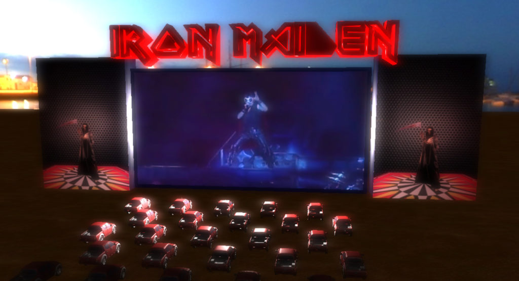 Iron Maiden 3D Concert (Three JS)
